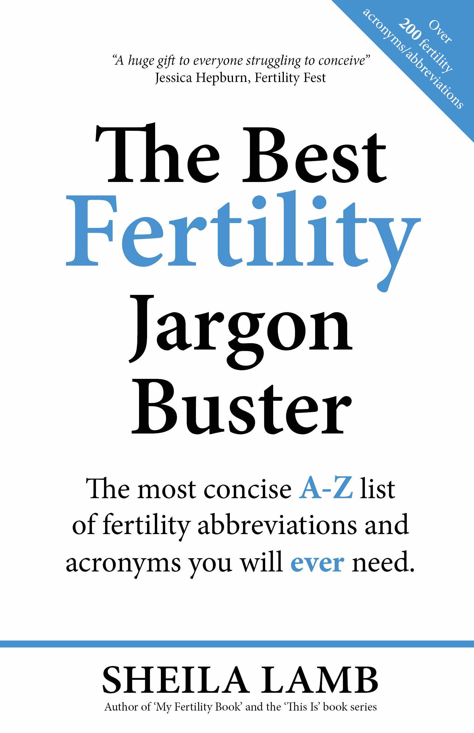 The Best Fertility Jargon Book